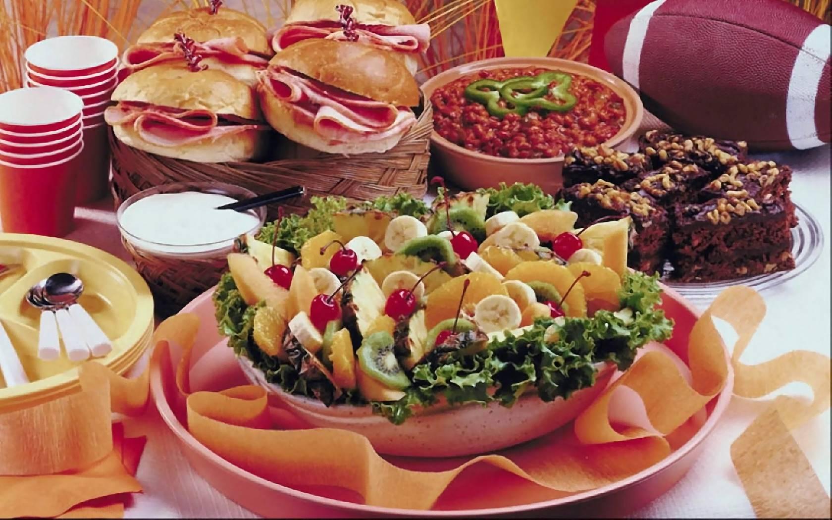 Фото еды на праздники