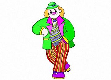 Clown Ausmalbilder Kostenlos