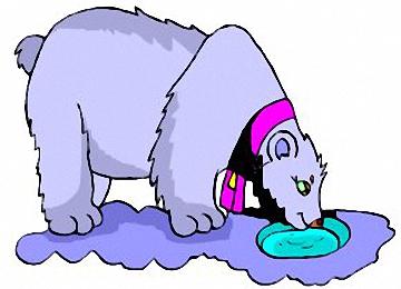 Eisbär Ausmalbilder